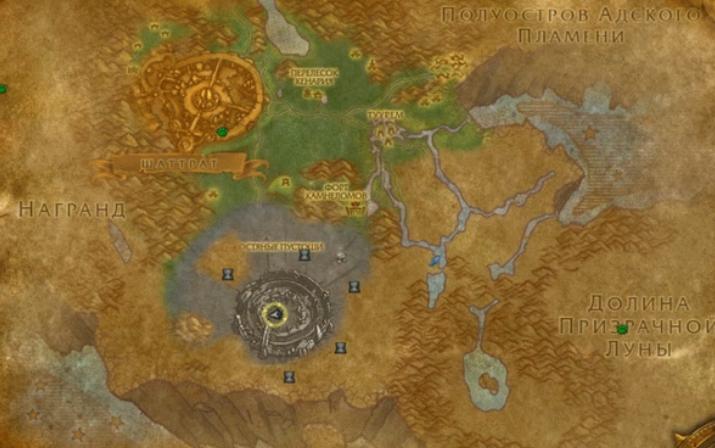 Где находится Аукенайские гробницы
